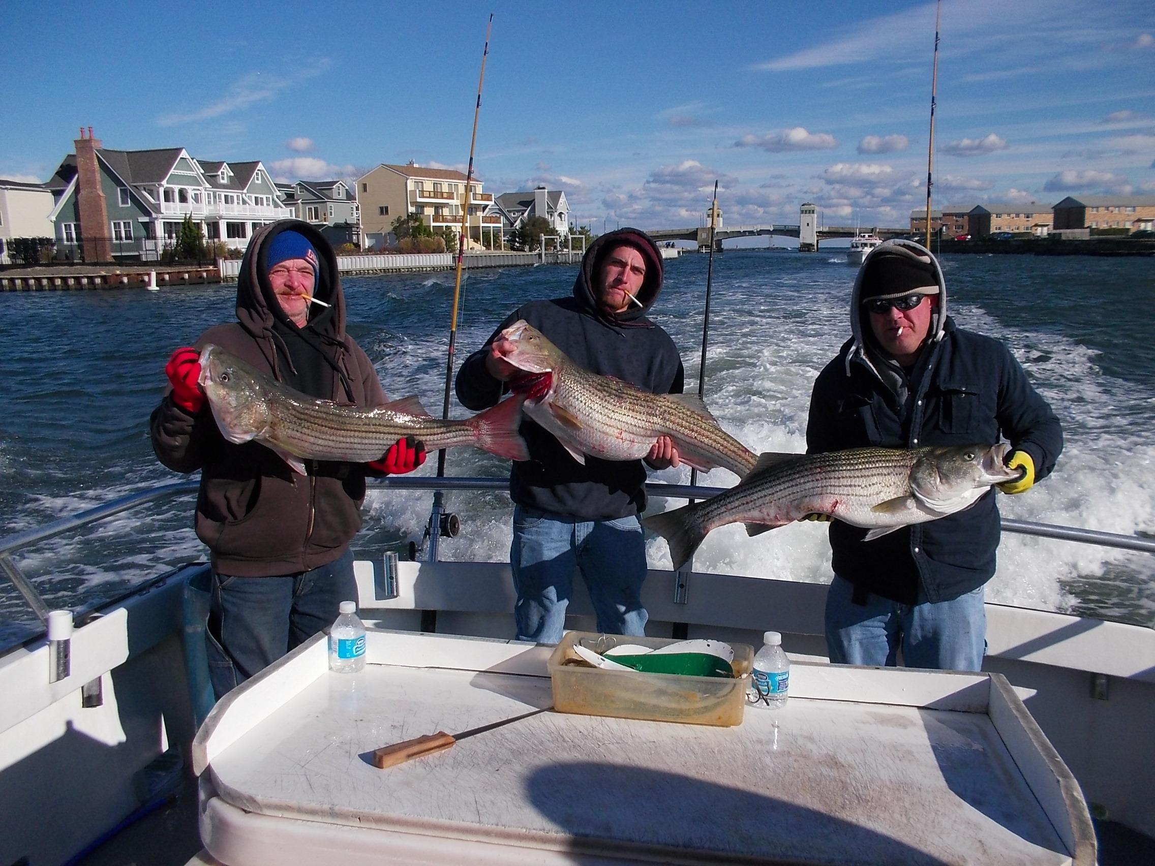 Last lady fishing nj deep sea fishing fishing charter for Fishing report nj